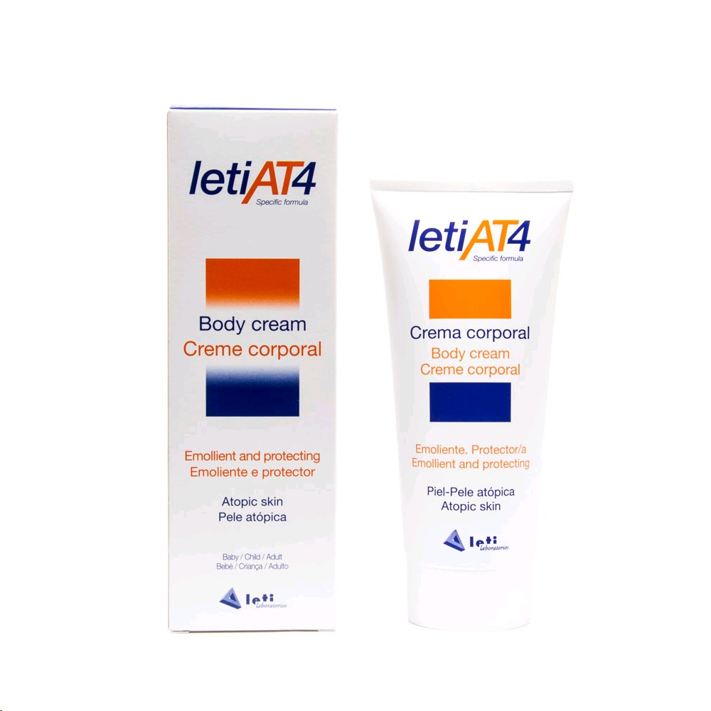 LETI AT4 CREMA CORPORAL 200 ML