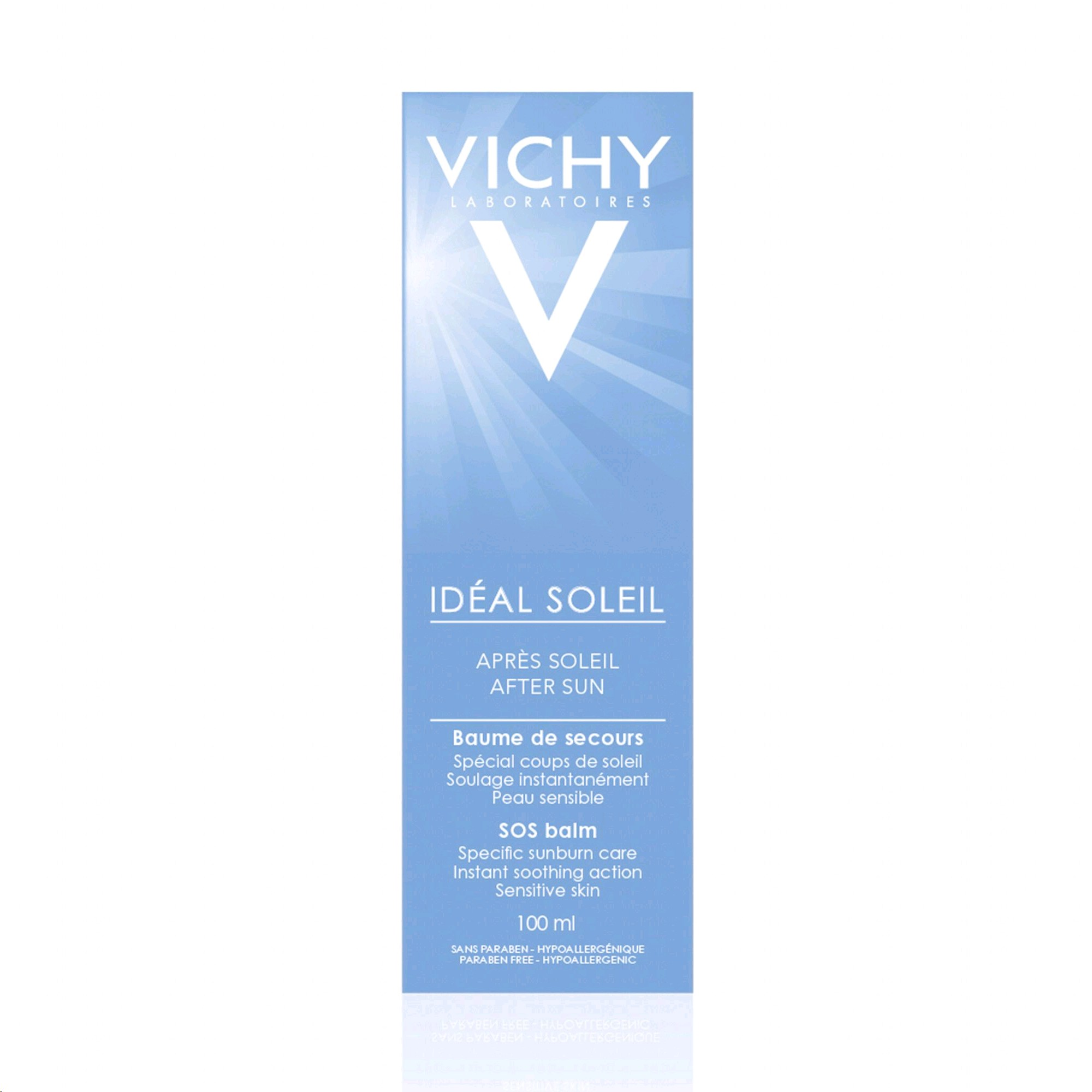 VICHY IDEAL SOLEIL BALSAM DESPRES  DEL SOL 100ML