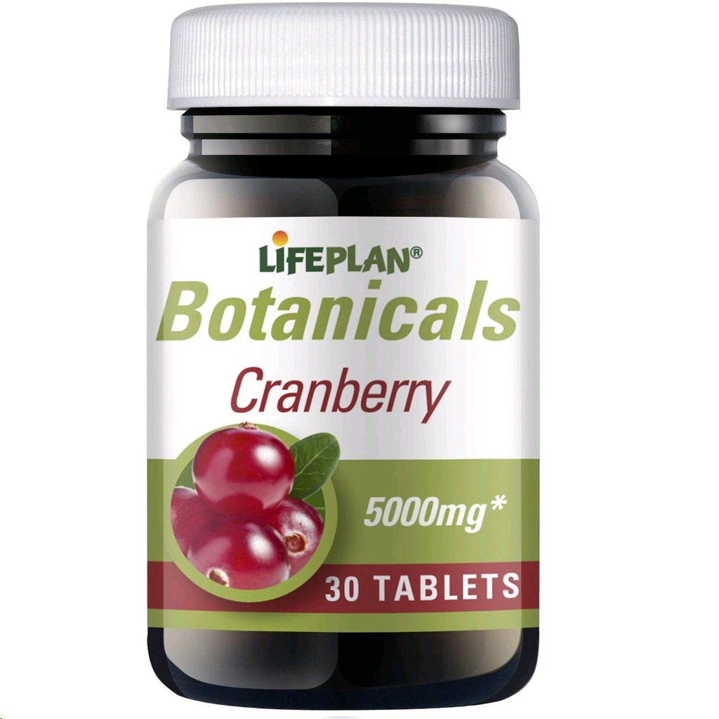 LIFEPLAN CRANBERRY 5000MG (200MG EXTRACTE) 30 TABLETES