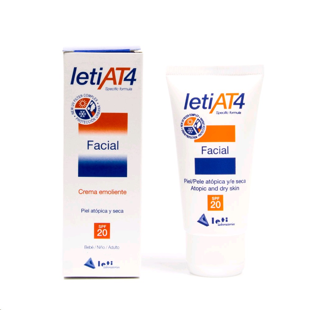 LETI AT4 CREMA FACIAL SPF20 50ML