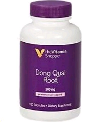 THE VITAMIN SHOPPE DONG QUAI ROOT 500MG 100 CAPSULAS