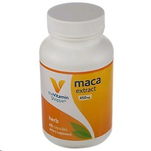 THE VITAMIN SHOPPE  MACA EXTRACT 60 CAPSULES