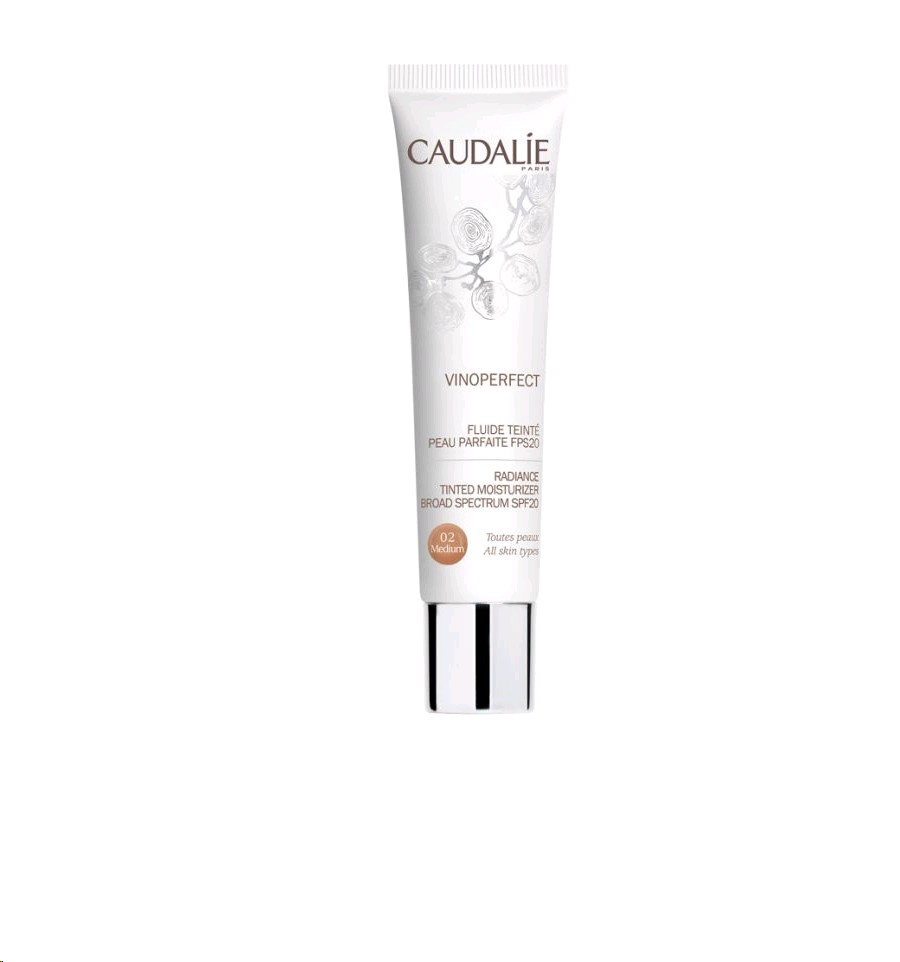 CAUDALIE VINOPERFECT FLUID AMB COLOR MEDIUM 40ML